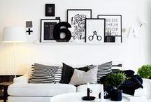 | BLACK & WHITE INTERIOR |