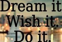 just do it! / by Emily McIndoe