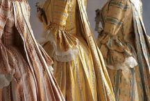 Gowns ~ 18th Century / Beautiful gowns from the 1700s.