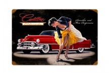 Classic Car Pin up Girls / Pins about Pinup Models/Car Girls. Girls and cars are naturally sexy. We admire the beauty found in both the cars and the ladies. #sexycars #pinupgirls http://classiccarinsurance.com/ / by Northeast Classic Car Insurance