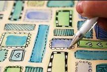 • ❃ • ❋ • ❁ • Zentangles, Doodles etc... • ✿ • ✽ • ❀ •