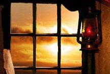 ✿ through the window/door ✿