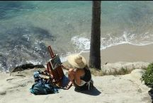 Prior Years Laguna Plein Air Painting Invitational / Each year the top plein air artists are invited to Laguna Beach for the Annual Laguna Plein Air Painting Invitational, turning the historic art colony into an outdoor painting studio.