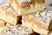 Coffee/ crumb cakes