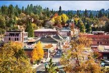 Placerville, California / Set in the heart of California's Gold Country on Hwy 50 halfway between Sacramento and South Lake Tahoe, my hometown of Placerville brings the history of the Golden State to life.