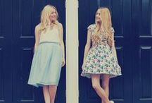 She and Hem Lookbook / Outfits of the Day from Jo and Victoria from She and Hem