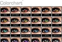 Writing Resources / Eye Color Charts, Character Traits