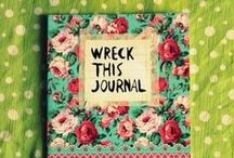Wreck this journal / Just wreck it
