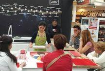Demostraciones en Centros Bricor, Carrefour etc. / Demostración de nuestros productos y formación sobre el manejo adecuado de ellos.