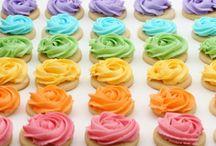 Cookies and Cupcakes / Pastel cookies