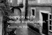 Simplify / Living more simply and intentionally