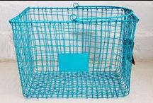 Wire storage baskets, bins, shelving / Wire storage we love that will help you stay organised/organized - from low cost/budget options to high end/luxury products there is a wire basket, bin or shelf to suit your needs!