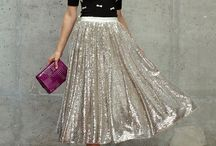 Sequins and Sparkles / Outfit inspiration