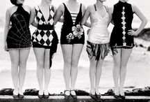 Bathing Beauties / Girls in Bathing Suits ~ Mostly '20s through '50s
