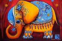 Art: Elephants