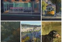 Art News & Views / Articles, interviews and painting tips with LPAPA Artists