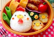 Design: Bento boxes and cute food