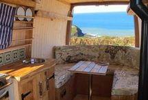 Van conversions and tiny homes