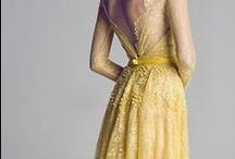 Fashion - Yellow / by Dorota Szumko