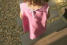 couture ou tricot enfant / des réalisations pour petites filles