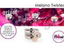 Melano sieraden / Melano sieraden, fantastische sieradencollecties met een wisselsysteem zoals de Cateye serie, Stainless steel serie, Twisted serie, The One en de nieuwste collectie VIVID.