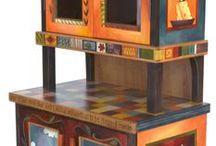 mobili dipinti