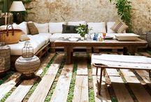 Garden / Garden green sun relax
