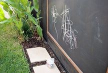 Outdoor Learning Environment. / Ideas for the outdoor learning environment/play for preschool/early learning.