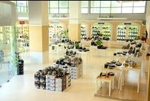 Meyer Thailand Showroom / Variety of cookware for you to buy. Equipped with a kitchen for cooking activities