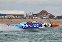 Pickfords' powerboat 2012! / Pickfords sponsored Dean Stoneman's powerboat in 2012, winning first place in the P1 SuperStock UK race!