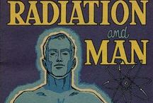 Radioactivity and Medicine / Radioactive decay, also known as nuclear decay or radioactivity, is the process by which a nucleus of an unstable atom loses energy by emitting ionizing radiation. A material that spontaneously emits such radiation — which includes alpha particles, beta particles, gamma rays and conversion electrons — is considered radioactive.