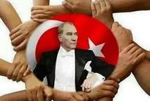Mustafa Kemal Atatürk (1881 - ----) / Mustafa Kemal Atatürk (pronounced [mustäˈfä ceˈmäl äˈtäˌtyɾc]; 19 May 1881 (conventional) – 10 November 1938) was a Turkish army officer, revolutionary, and the first President of Turkey. He is credited with being the founder of the Republic of Turkey.  He died on 10 November 1938, at the age of 57, in the Dolmabahçe Palace, where he spent his last days. The clock in the bedroom where he died is still set to the time of his death, 9:05 in the morning.