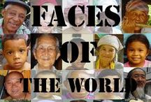 Faces of the world / The face is a central organ of sense and is also very central in the expression of emotion among humans and among numerous other species. The face is crucial for human identity, and damage such as scarring or developmental deformities have effects stretching beyond those of solely physical inconvenience.