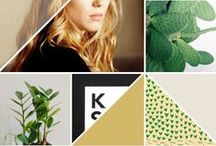 P A T T E R N - Moodboards / collages of pretty things ... inspiration for all creators of pattern