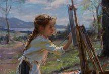 Children in Painting