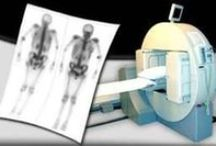 """Nuclear Medicine / Nuclear Medicine uses radioactive materials (isotopes) for the purpose of imaging organs and various systems in the human body. ------ Nuclear medicine is a medical specialty involving the application of radioactive substances in the diagnosis and treatment of disease. Nuclear medicine, in a sense, is """"radiology done inside out"""" or """"endoradiology"""" because it records radiation emitting from within the body rather than radiation that is generated by external sources like X-rays."""