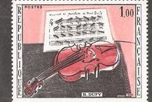 Music on The Stamps