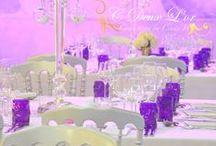 { Inspiration } · Mariage ·Violet / [Inspiration] Mariage violet - Centre de tables - Mariage Crystal