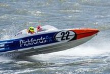 Pickfords' powerboat 2016! / Pickfords' third sponsored boat takes part in the 2016 P1 SuperStock powerboat championship, driven by David Toozs-Hobson and Martin Robinson.