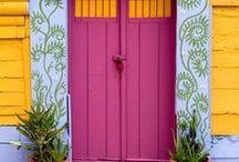 Doors  - knockers - windows   - handles-  ect. / by irma
