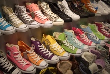 toms, vans and converse  / all the shoes i love