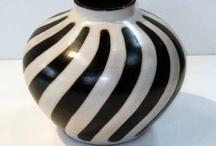 Pottery - Bowl- Vases