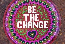 Be the change / Yes we can  ! / by irma