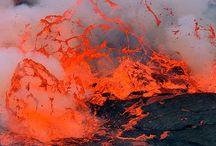 Volcanoes & Lava / by Randy Johnson