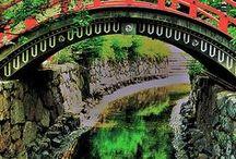 Bridge over the..... / by irma