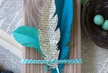gift wrappings/tags