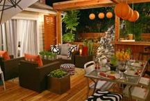 Outside space / Ideas for when we get some land. Outdoors spaces, gardening....