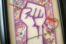 Craftivism - OU YES!!!