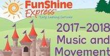 Music & Movement / A selection of music and other gross motor fun available at www.funshineexpress.com