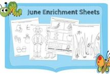 FREE Resources / We offer a variety of educational resources to simplify your day! Extra activities, family guides, observation summaries, progress checklists, field trip permission slips, and craft recipes are among our list of printable PDF documents that save you time. Visit www.funshineextras.com to download these FREE pages!